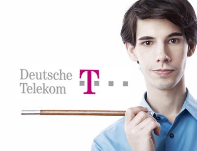 Alexander Merk verzaubert bei der Deutschen Telekom