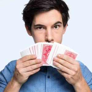 Spielkarten Kartentrick lernen